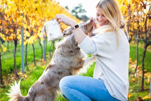 Gassitasche Futterbeutel Hund schön Leckerlibeutel  Bellovie